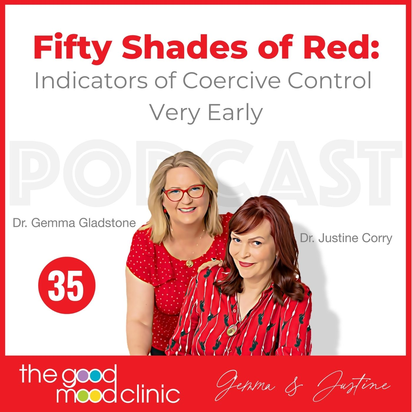 35: Fifty Shades of Red: Indicators of Coercive Control Very Early